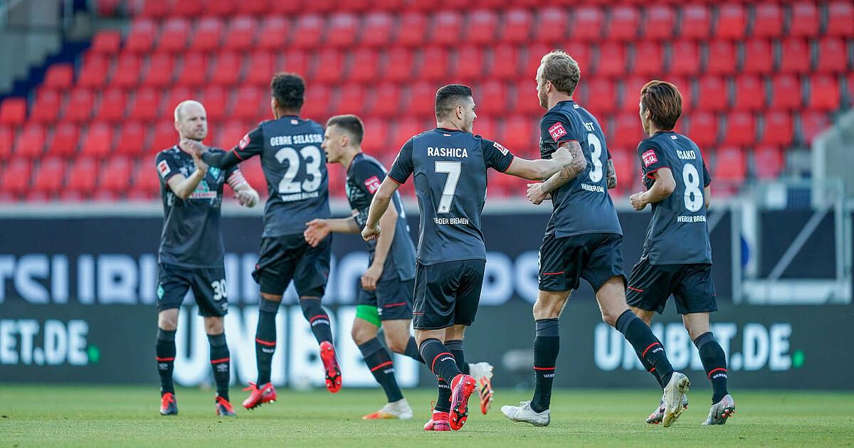 Werder schafft den Klassenerhalt | SV Werder Bremen