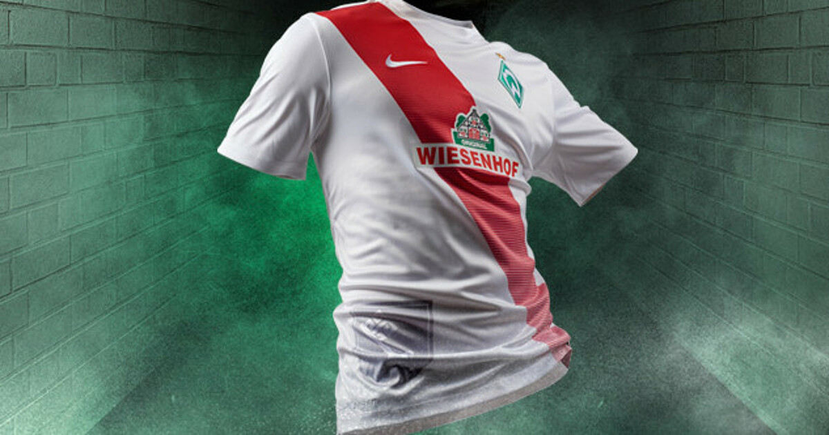 fab674d3c35 Werder unveil new alternate kit