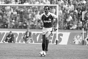 Jonny Otten im Trikot des SV Werder Bremen 1984.