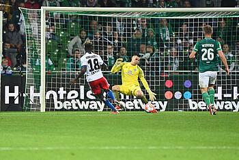 Michael Zetterer im Spiel gegen den HSV