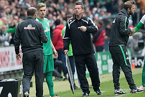 Oliver Hüsing sammelte zwar mit sechs Bundesliga-Minuten die wenigsten im Profi-Kader, half aber in der Schlussphase im Heimspiel gegen Wolfsburg mit, wichtige drei Zähler zu gewinnen.