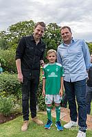 Kleine und große Werder-Fans, wohin man auch blickte.