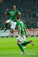 Werders Tormaschine schoss die beiden Treffer des Spiels, der SVW gewann mit 2:0.