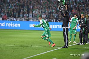 30 Spieler setzte Viktor Skripnik in dieser Saison ein und damit die drittmeisten aller Bundesligisten (Foto: nordphoto).