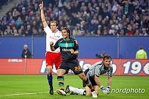 Das DFB-Pokalhalbfinale 2009 war der Auftakt der Derby-Wochen. 120 Minuten später hatte die Partie nach Toren von Per Mertesacker und Ivica Olic keinen Sieger.