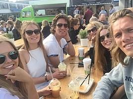 Jannik Vestergaard besuchte seine Familie in Dänemark (Foto: Instagram/jannikvestergaard).