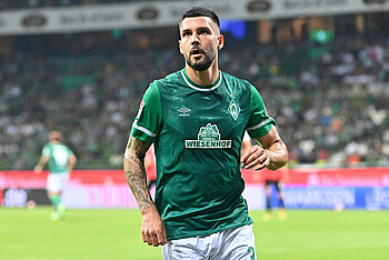 Anthony Jung im Spiel gegen Hannover 96.