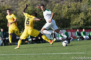 Hier gibt es die besten Bilder zu den beiden Testspielen am Montag gegen den Karlsruher SC und den FC Brügge.