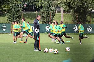 Die Mannschaft gibt Vollgas, Skripnik kann in der Länderspielpause Neues ausprobieren. (Foto: nph).