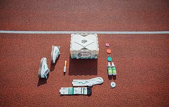 Die einzelnen Bestandteile der Collectors Box.