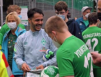 Leonardo Bittencourt zu Gast beim I-Cup 2021