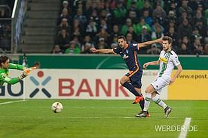 In Gladbach erlebten die Fans die Definition eines Pokal-Krimis.