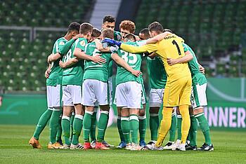 Die Grün-Weißen haben im Pokal-Halbfinale gegen Leipzig eine geschlossene Leistung gezeigt.