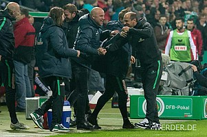 Am Ende feierte Werder durch weitere Treffer von  Vestergaard, Pizarro und Ujah einen verdienten 4:3-Sieg.