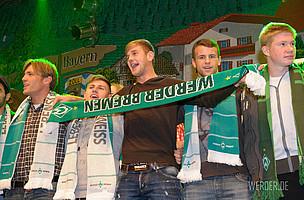 """""""Ich habe Bock auf den Verein!"""" Niclas Füllkrug bei der Spielerpräsentation zur Saison 2012/13."""
