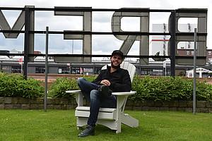 """Anfang August bezieht """"Eile"""" seine neue Wohnung in Hafennähe (Foto: WERDER.DE)."""