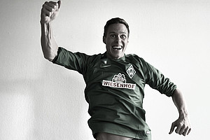 Wie bejubelst du dein erstes Werder-Tor? (Foto: WERDER.DE)