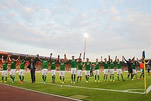 Der SVW, der zuvor 14 Spiele sieglos geblieben war, startete damit erfolgreich in die neue Saison 2013/2014 (Archivfoto: nordphoto).