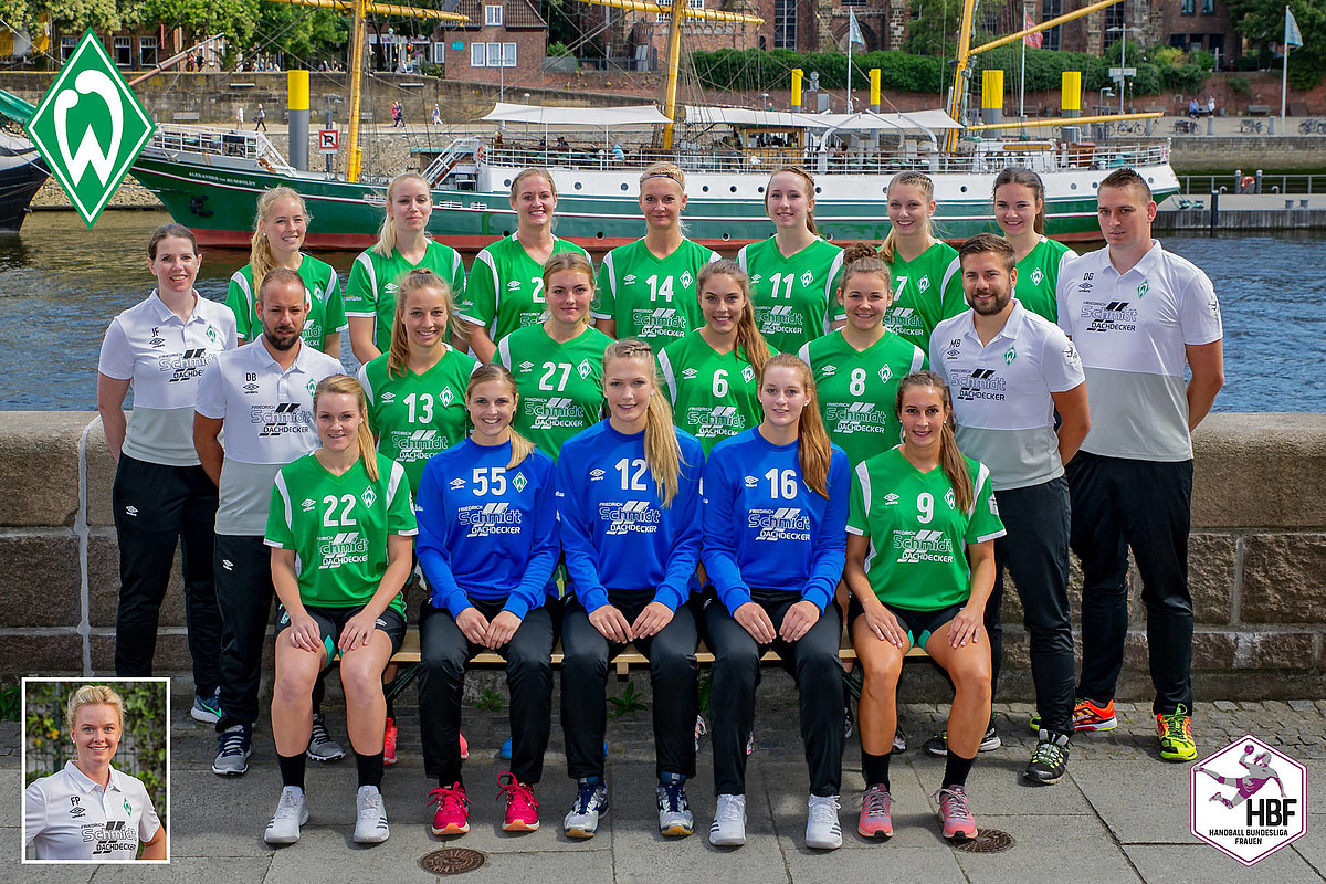 Das Teamfoto der 1. Frauen aus der Saison 2018/2019