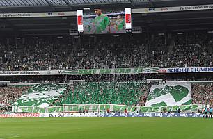 Zum Saisonauftakt 2011/2012 empfing der SV Werder in einem ausverkauften Weser-Stadion den 1. FC Kaiserslautern (Archivfoto: nordphoto).