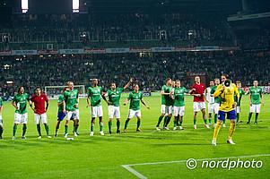 Gutes Omen? Werder gewann in den letzten zehn Jahren sechs der sieben Flutlichtspiele gegen den HSV.