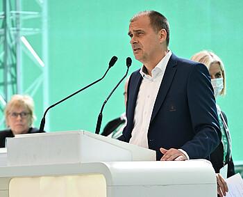 Klaus Filbry auf der Mitgliederversammlung