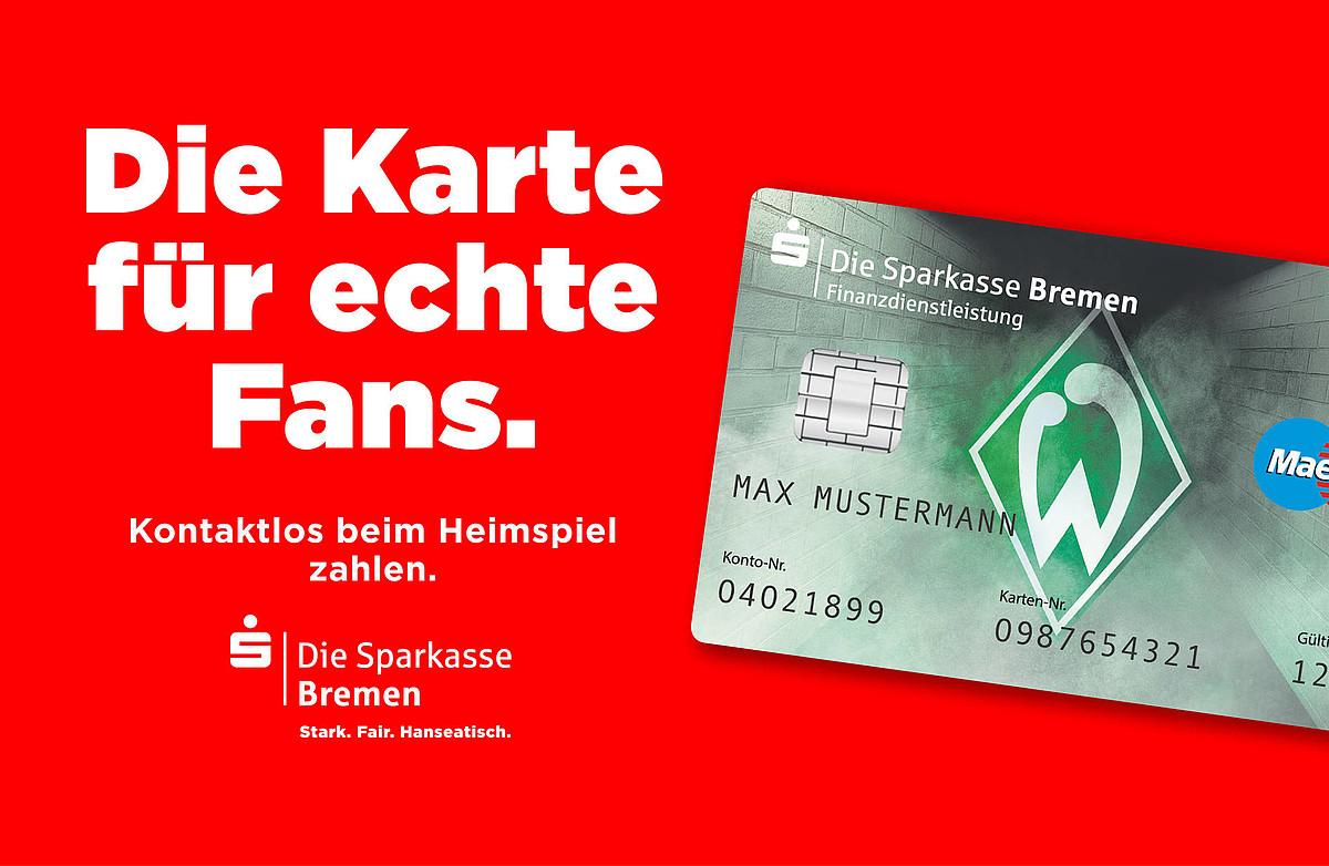 Sparkasse Karte.Bargeldlos Zahlen Mit Girogo Stadion Sv Werder Bremen