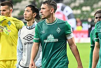 Milos Veljkovic nach dem Spiel gegen den HSV.