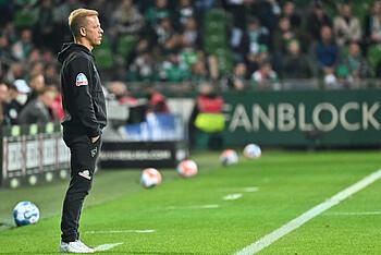 Markus Anfang im Spiel gegen den HSV.