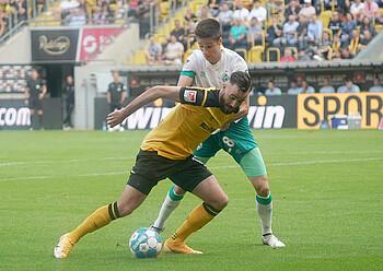 Ilia Gruev im Spiel gegen Dresden