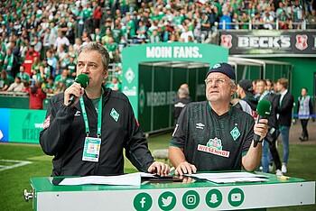 Immer dabei: Arnd Zeigler und Christian Stoll
