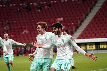 Gegen Mainz 05 erzielte Eren Dinkci dein erstes Bundesliga-Tor