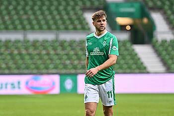 Niclas Füllkrug im Spiel gegen den Vfl Wolfsburg.