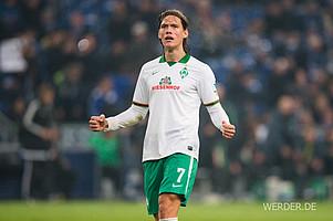 Werders Dauerbrenner unter den Feldspielern: Jannik Vestergaard absolvierte 2.970 Einsatzminuten für Werder, insgesamt 33 Partien. (Foto: nordphoto).