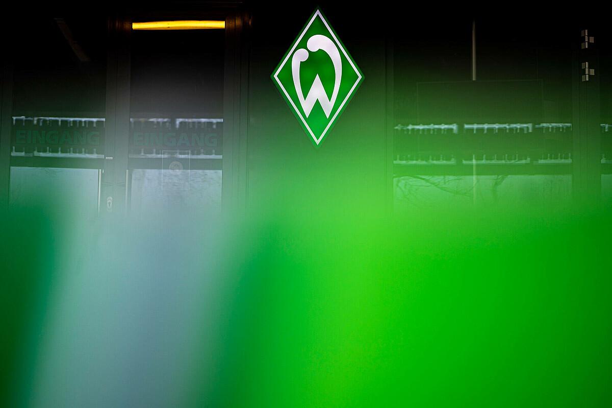 Die Werder-Raute am wohninvest WESERSTADION.