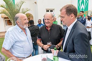 Jürgen L. Born, geschäftlich in der Region unterwegs, stattete dem Empfang ebenfalls einen Besuch ab.