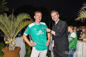 Botschafter Dr. Martin Schäfer stammt aus Achim und ist schon seit seiner Kindheit großer Werder-Fan.