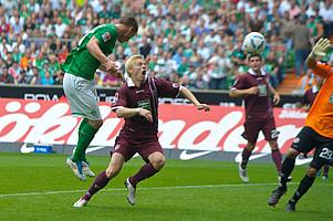 In der 81. Minute erzielte der Schwede per Kopf den 2:0-Endstand gegen den 1. FCK (Archivfoto: nordphoto).