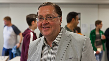 GM Zigurds Lanka (Co-Kommentator aus Lettland)