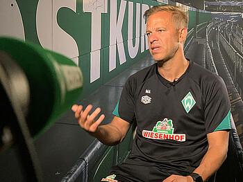 Markus Anfang im Interview mit WERDER.TV.