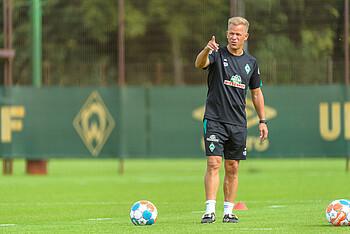 Markus Anfang during training.