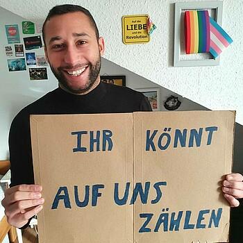 Engagiert für Vielfalt und Toleranz: Jermaine Grenee
