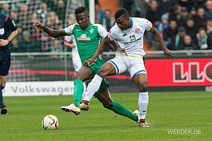 Djilobodji verlieh Werders Abwehr seit seinem Wechsel im Januar mehr Stabilität. Der Senegalese gewann 69,5% seiner Zweikämpfe und weist damit die beste Quote der Liga vor.