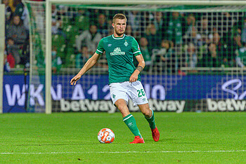 Lars Lukas Mai during the game against HSV.