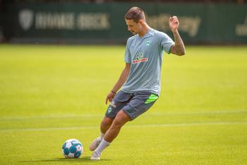 Marco Friedl im Training auf dem Trainingsgelände des SVW.