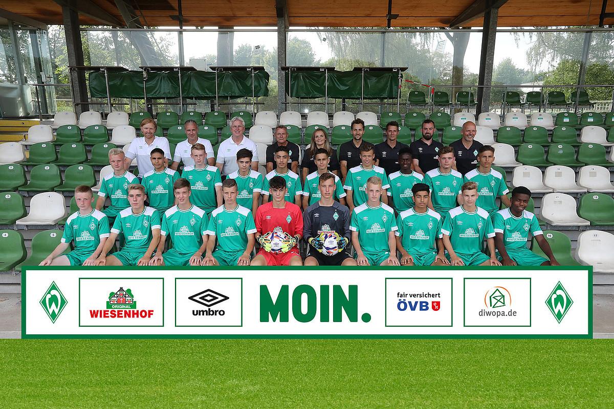 Fußball U16 überblick Sv Werder Bremen