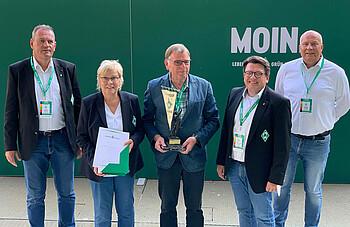 Elke und Wilfried Humrich erhalten den Joseph-Lutter-Wanderpreis für herausragende Verdienste