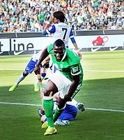 Dann folgte der Doppeschlag der Grün-Weißen: Assani Lukimya erzielte zunächst in der 53. Minute den 1:2-Anschlusstreffer (Archivfoto: nordphoto).