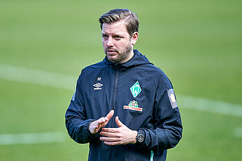 Florian Kohfeldt im Training