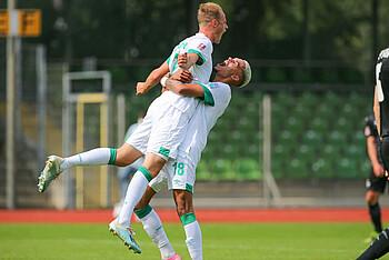 Die U23 gewinnt das Heimspiel gegen den BSV Rehden.